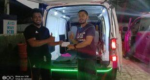 Pemuda Pemerhati Lingkungan Salurkan Donasi Buat RS 86