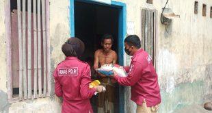 Polres Pasangkayu Bagi Sembako di Kampung Nelayan dan Daerah Pedalaman