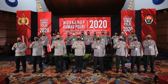 Humas Polri Gelar Workshop Pengamanan Pilkada