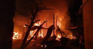 Kebakaran Rumah di Polman Renggut Tiga Nyawa, Polisi Lakukan Penyelidikan
