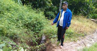 Akibat Longsor, Akses Jalan Menuju Dusun Ratte Tertutup