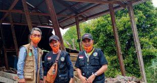 BKPRMI Sampaikan Penghargaan Kepada Relawan Yang Membantu Sulbar