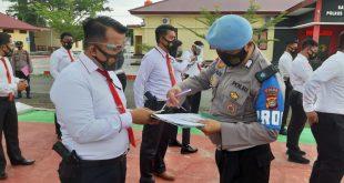 Bid Propam Polda Sulbar Laksanakan Gaktiplin di Pasangkayu