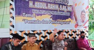 Abdul Rahim: Anak Muda Harus Jadi Solusi Kemajuan Daerah