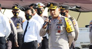 Kapolres Majene : Jaga Disiplin dan Loyalitas, Jangan Jadikan Alasan Puasa kita Melemah